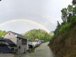 风雨过后,又见双彩虹